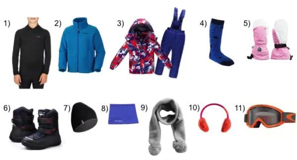 Ski com crianças - o que levar na mala? - Just Real Moms