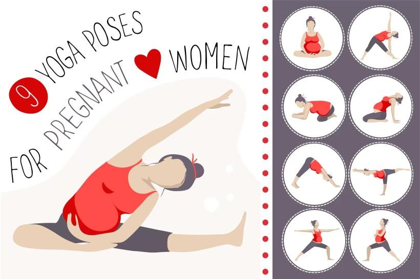 9 poses de yoga para mulheres grávidas