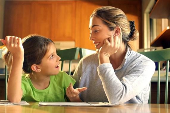 Por que é importante fazer seu filho se abrir sobre seu dia - por Bianca Arcangeli