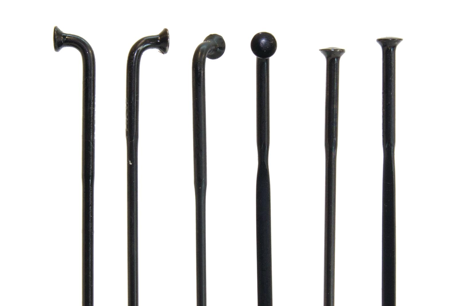 1.8mm 1.6mm black lot of 4 spokes new DT Swiss J Bend Competition Spoke 286mm