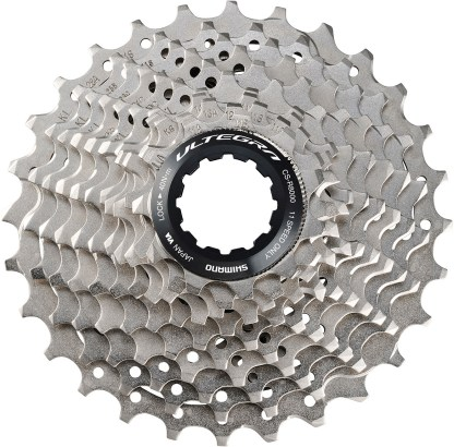 Ultegra cassette with wheels 11-28