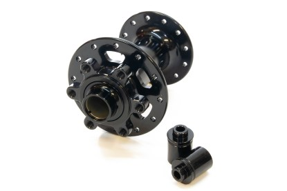 JRA 6-bolt J-bend front hubs – 100mm spacing