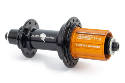 JRA light J-bend rear hub