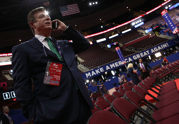 Paul Manafort Meets with Senate Intel Commitee Amid Russia Probe