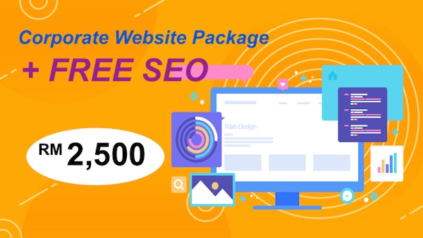 Website design Package promotion 2020 Malaysia