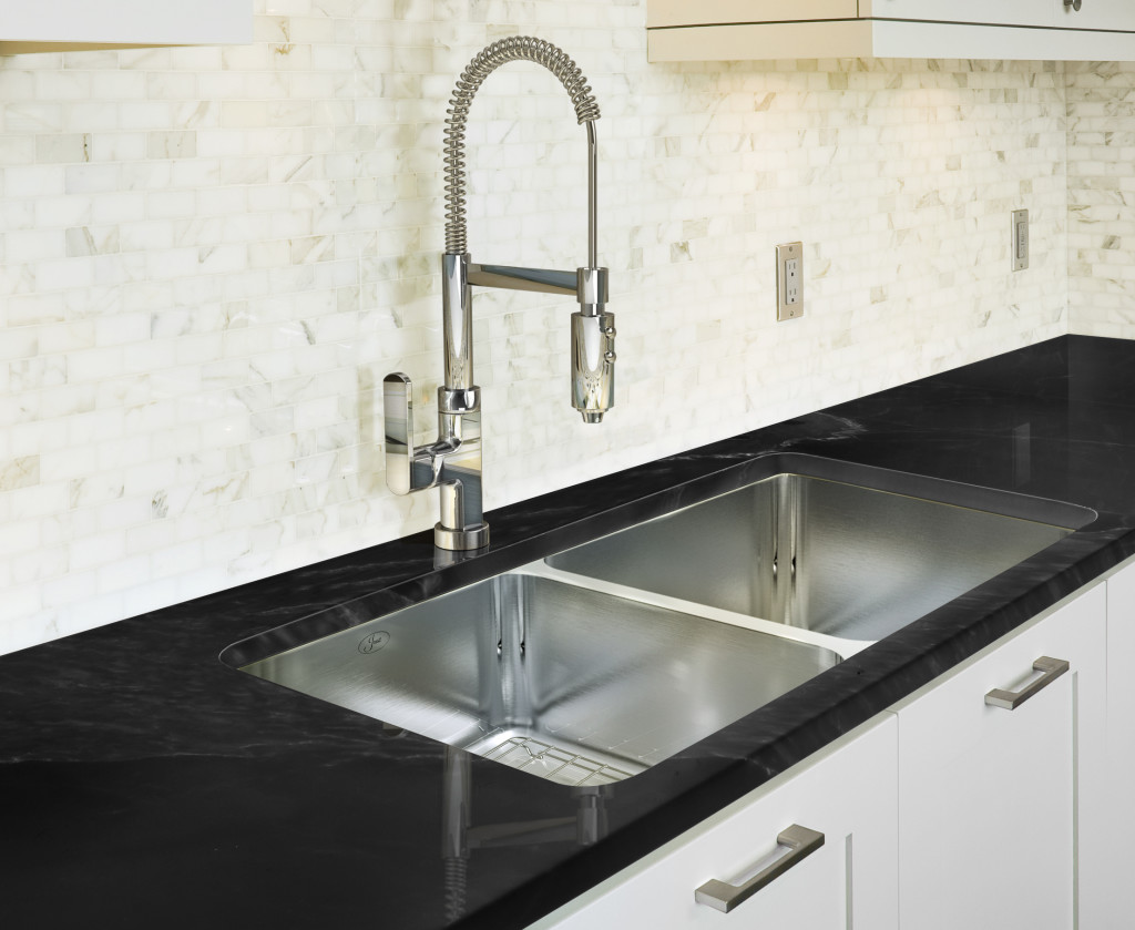 undermount double 60 40 offset steel sinks by just
