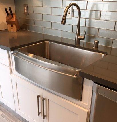 kitchen sinks stainless steel drop in