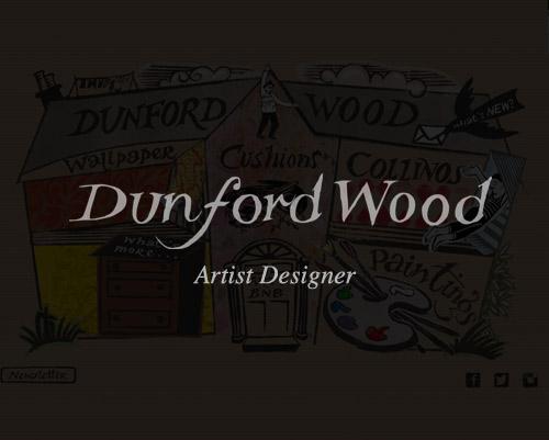 Hugh Dunford Wood Artist Designer Website By Just SO Media House Lyme Regis Dorset