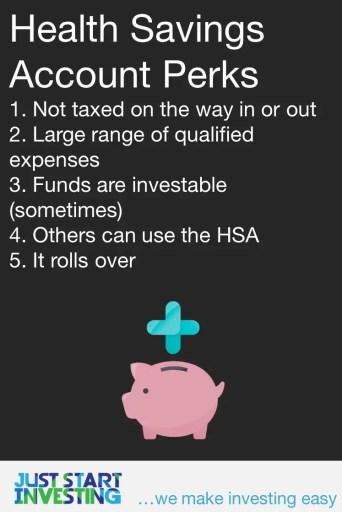 Health Savings Account Rules - Perks