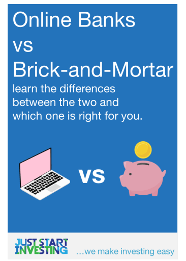 Online Banks vs Brick-and-Mortar - Pinterest