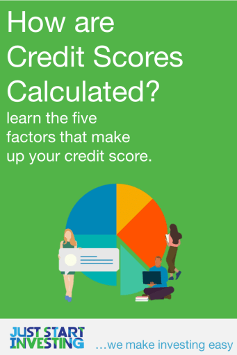 How are Credit Scores Calculated - Pinterest