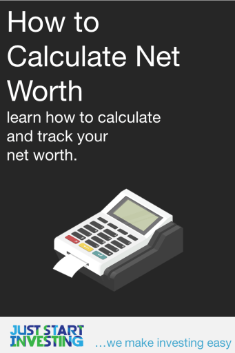 How to Calculate Net Worth - Pinterest