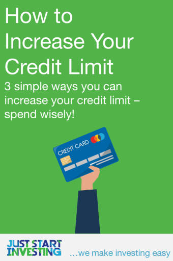 How to Increase Credit Limit - Pinterest