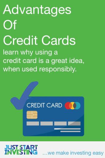 Advantages of Credit Cards - Pinterest