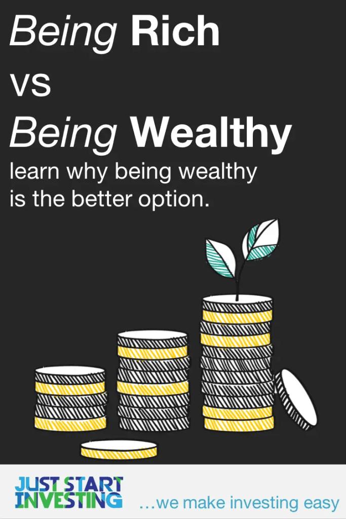 Rich vs Wealthy - Pinterest