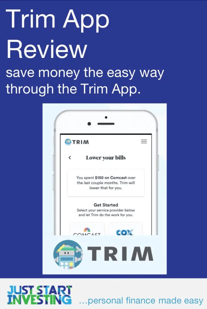 Trim App Review - Pinterest