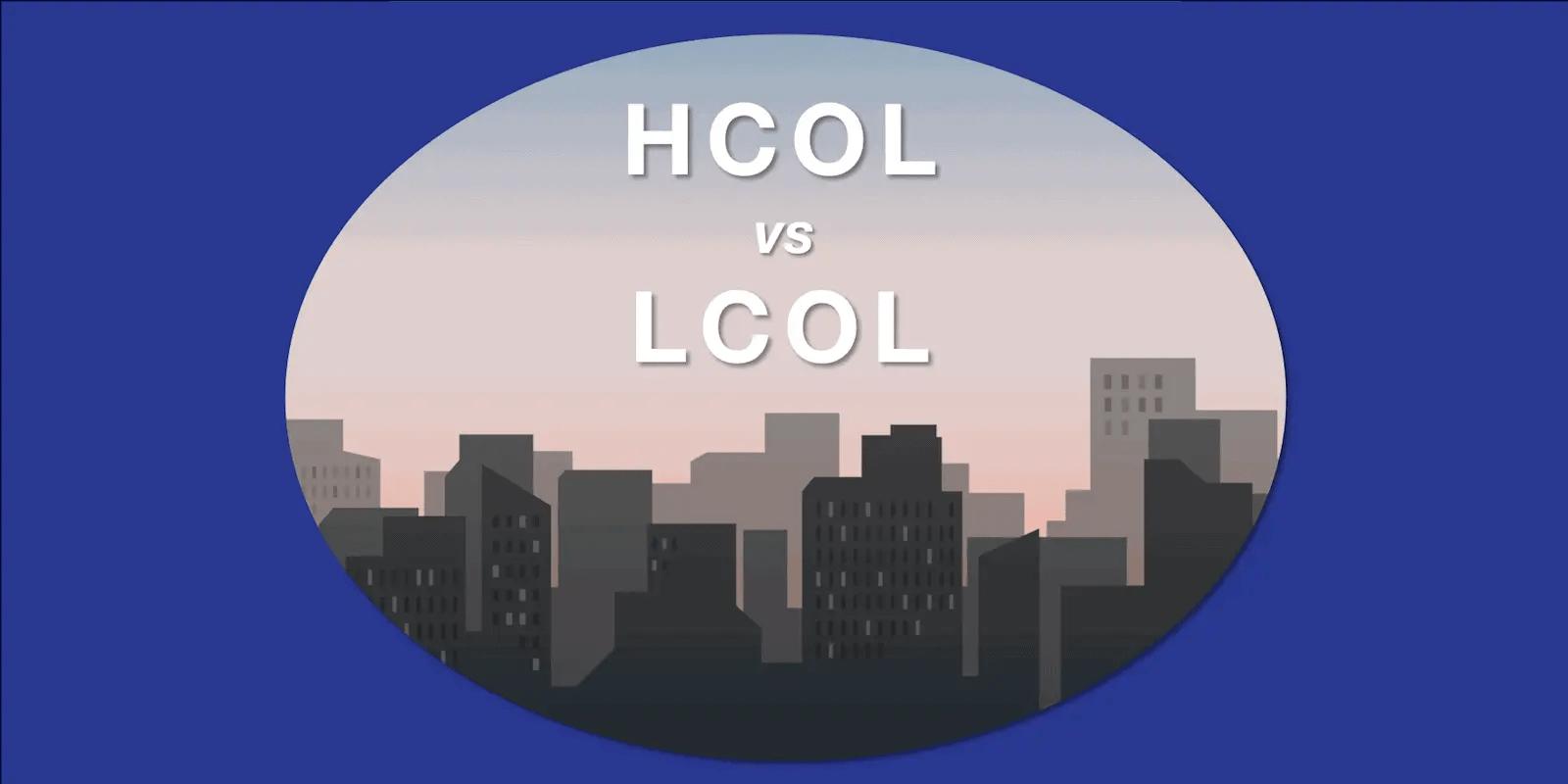 HCOL vs LCOL - Feature