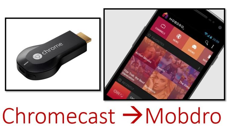 mobdro on chromecast