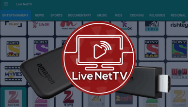 Live NetTV on Firestick