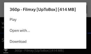 Cinema HD on Roku - Open with
