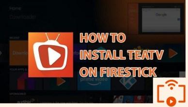 Install TeaTV on Firestick