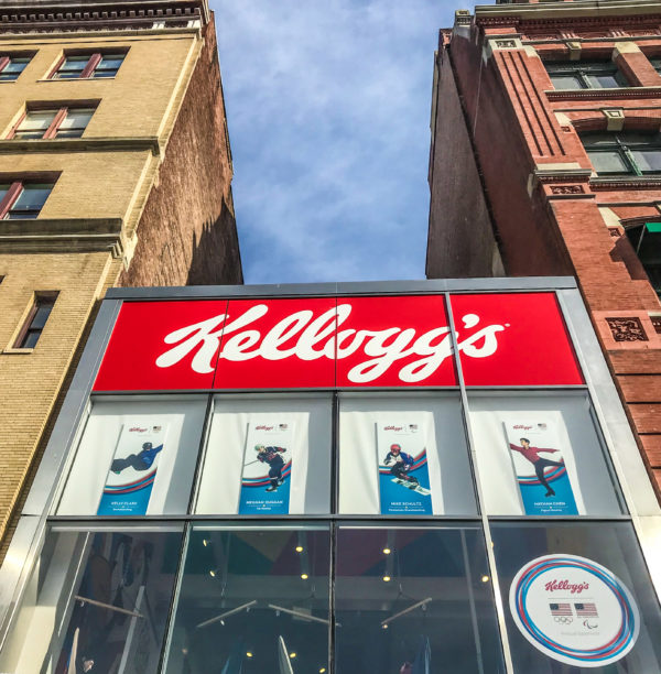 Kellogg's NYC: A Cafe that takes your favourite cereals to another level