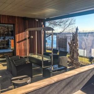 Bota Bota - Outdoor Lounge Space