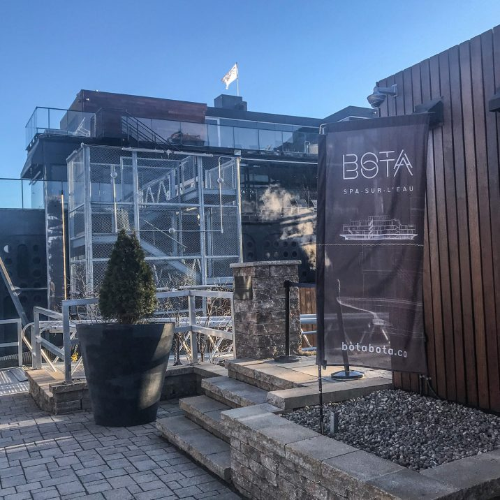 BOTA BOTA: A Floating Spa in Montreal