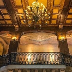 Fairmont Le Chateau Frontenac - Quebec City - Lobby Lighting