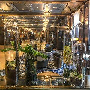 Fairmont Le Chateau Frontenac - Quebec City - Lobby Plants