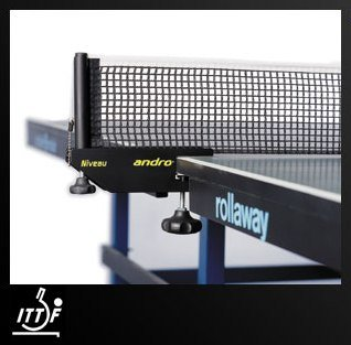 """Andro Niveau, Net & Post Set """"ITTF approved"""""""