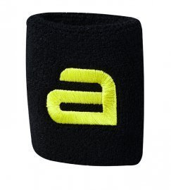 Andro Alpha Wrist Band - Sweat Absorbsion Black/Yellow
