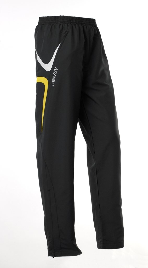 Donic Tracksuit Pants Trophy Black/Yellow