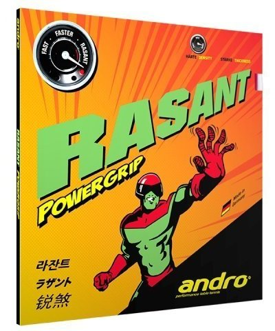 andro Rasant Power Grip, Even More Power, Even More Spin