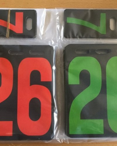 Replacement Flipper Numbers - Suits Stiga, DHS, Stag etc