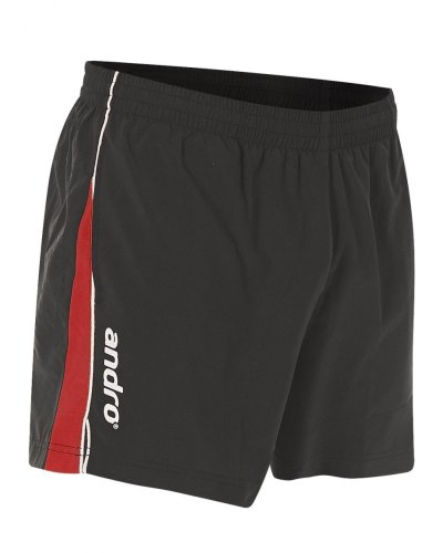 andro Table Tennis Shorts Asco - black/red