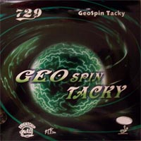 729 GeoSpin Tacky with Power sponge.