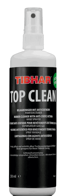 Tibhar Top Clean, Rubber Cleaner 250ml