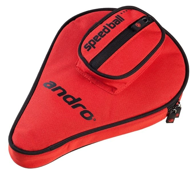 andro Batcover Basic, with ball compartment Red/Black