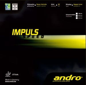 "andro Impuls Speed ""Speed Glue Built In"""