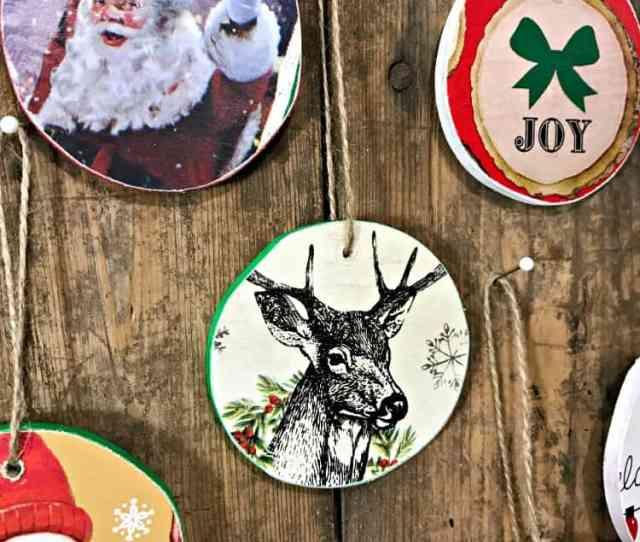 Diy Christmas Ornaments Diy Wooden Christmas Ornaments Homemade Christmas Ornaments