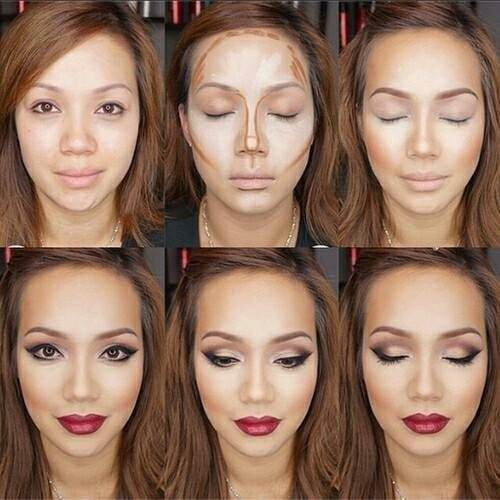 how to contouring in steps