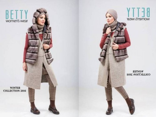 chic hijab winter outfit