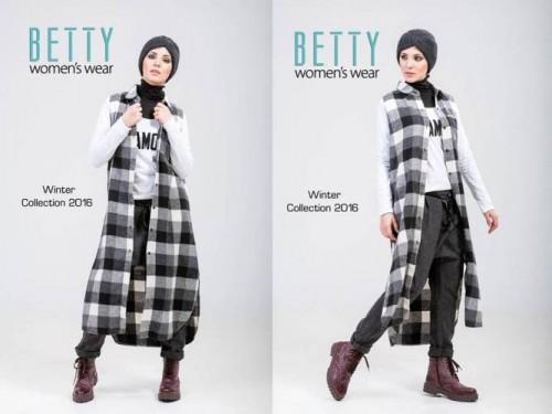 plaid tunic sporty hijab
