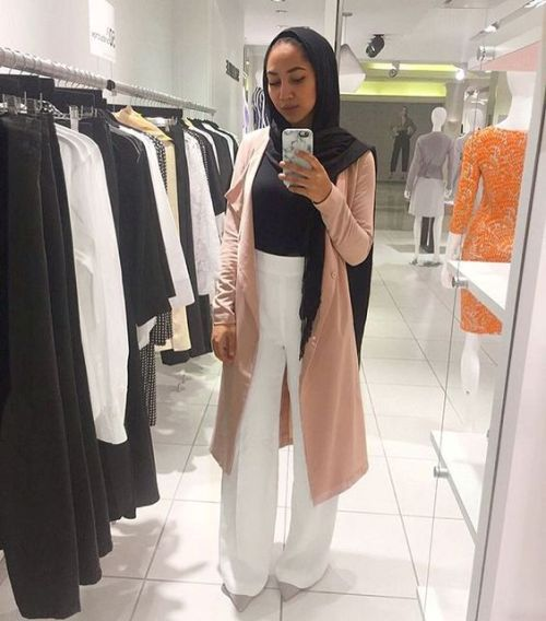 How To Wear Palazzo Pants With Hijab Just Trendy Girls