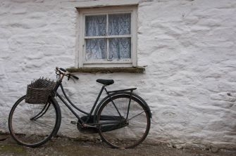 An old bike at the Traditional Farm at Muckross