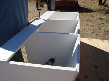 3 nesting boxes assembled.