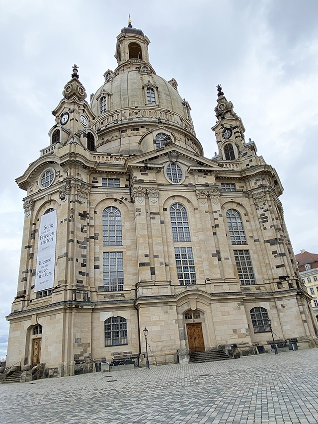 The Beautiful Frauenkirche, Dresden, Germany