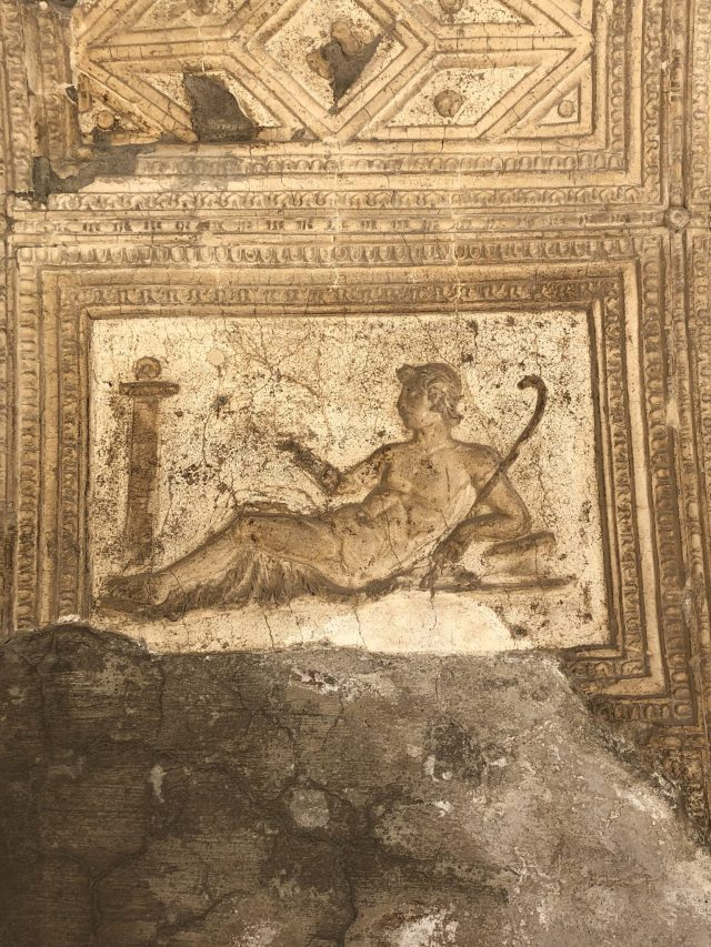Wall Art In Temple Dedicated To Augustus