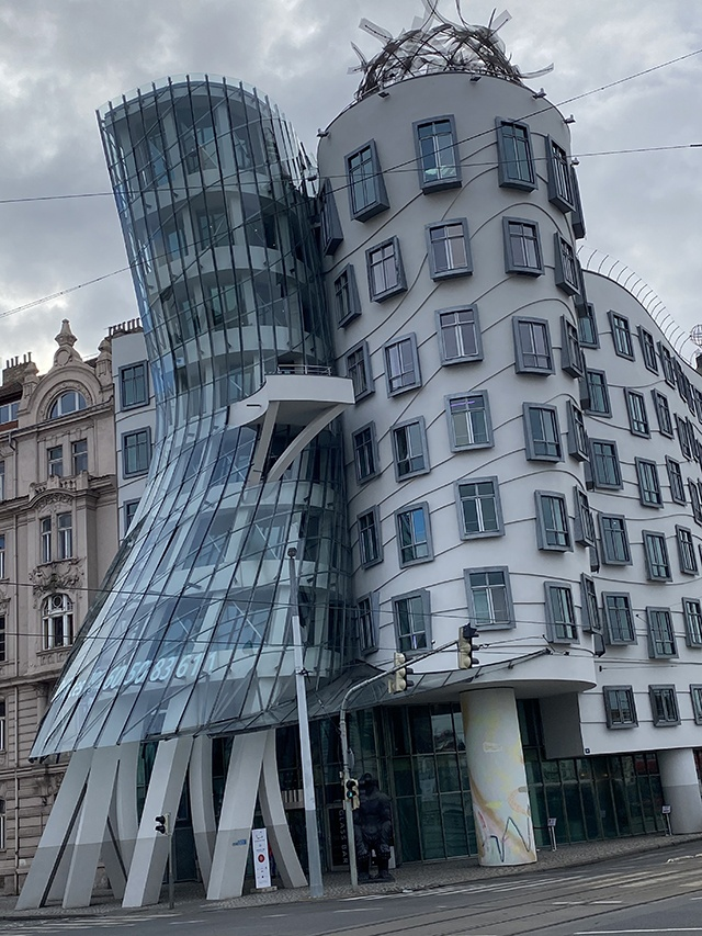 The Dancing House.